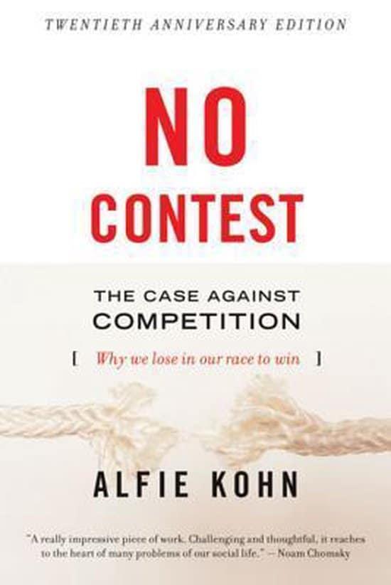 Boekcover: No Contest, Alfie Kohn