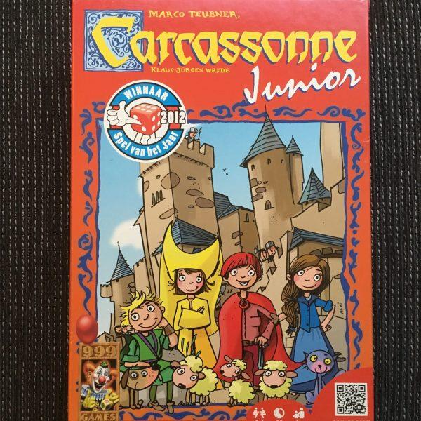 Voorkant doos - Carcassonne Junior